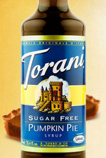 Sugar Free Pumpkin Pie Syrup